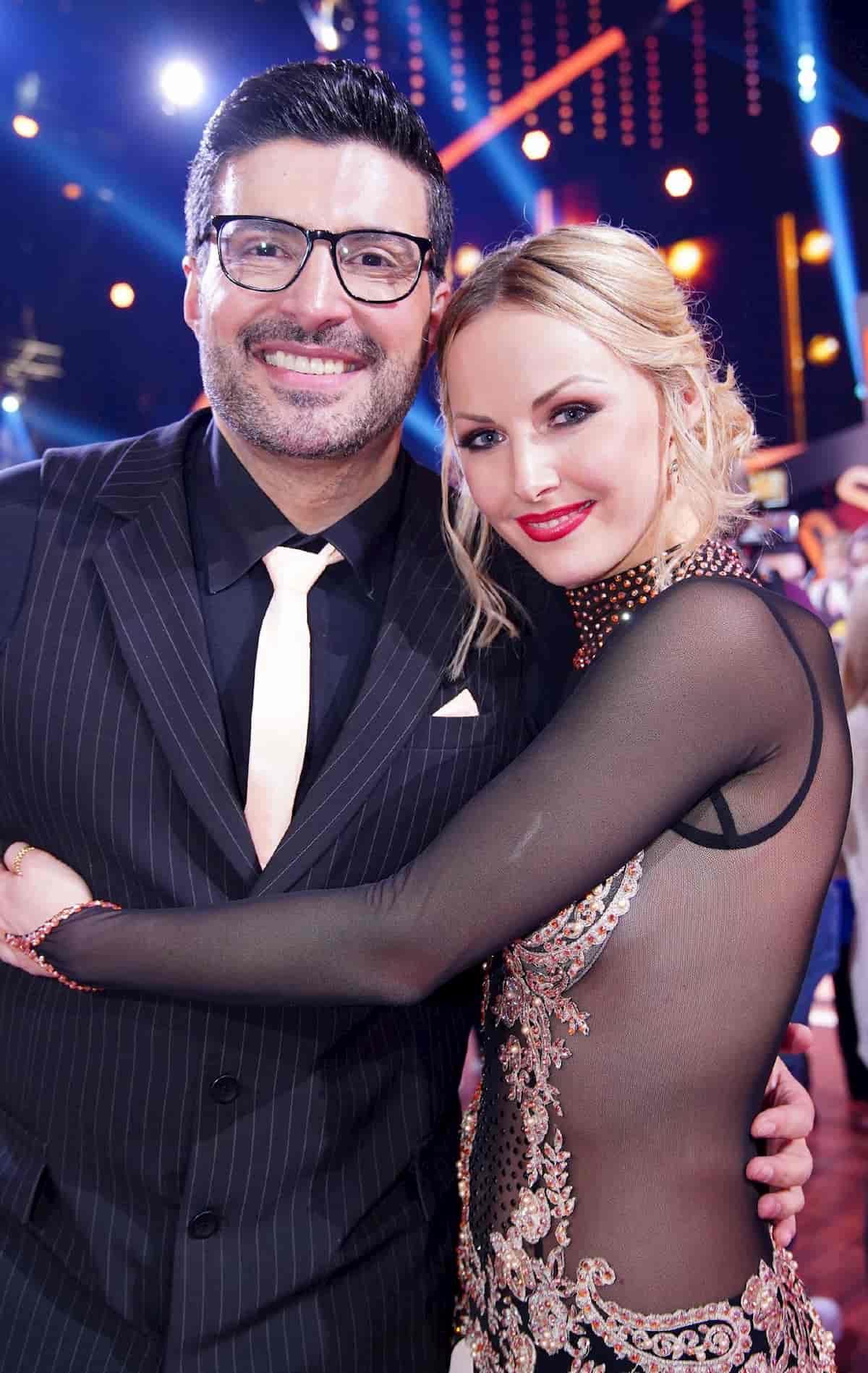 Sükrü Pehlivan –Alona Uehlin als Tanzpaar bei Let's dance 2020