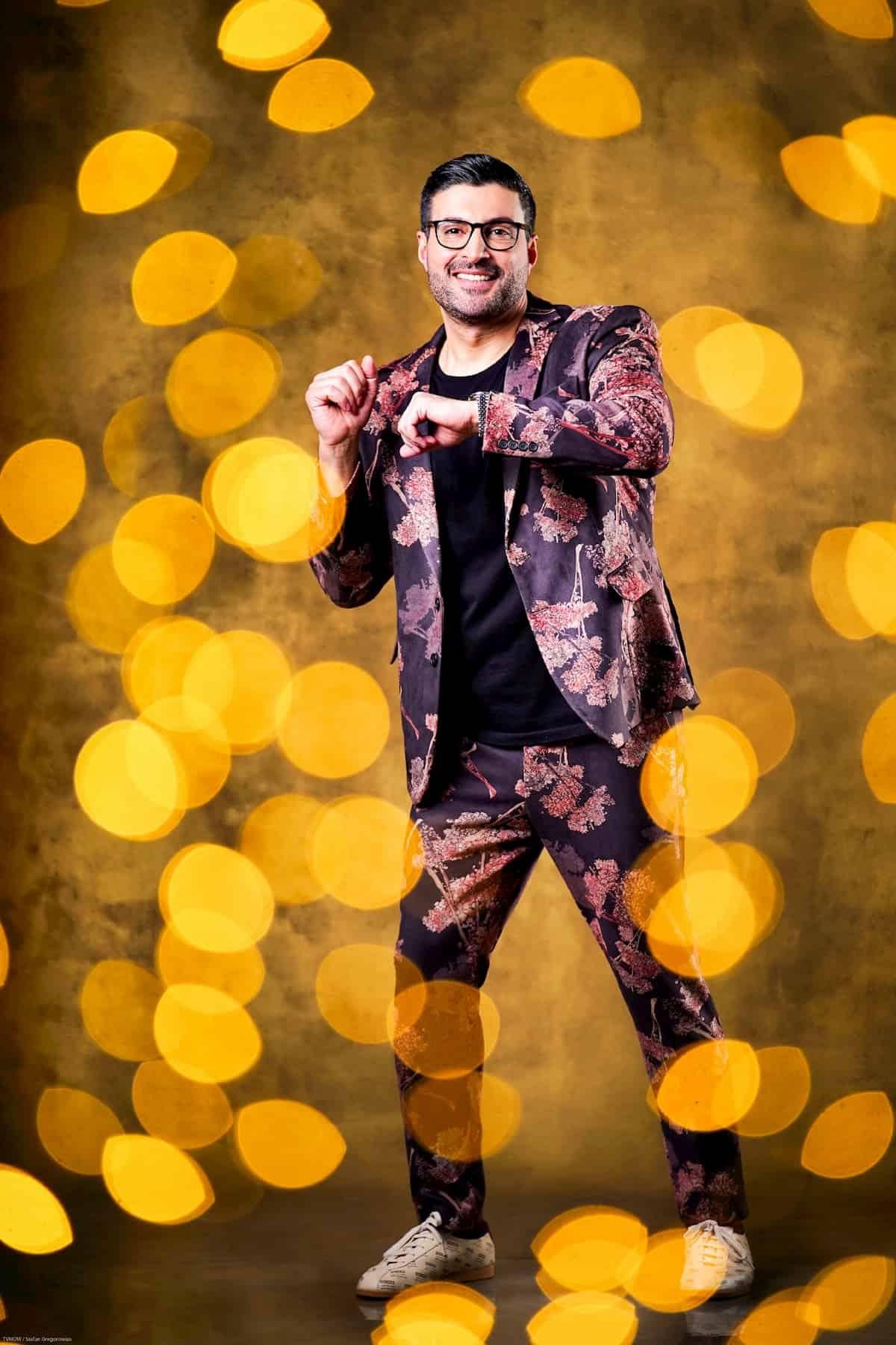 Sükrü Pehlivan bei Let's dance 2020 Prominenter Kandidat