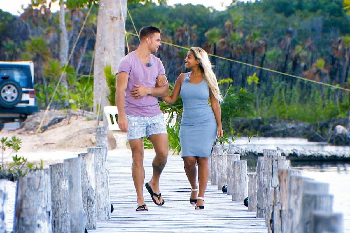 Sebastian und Anna beim Einzel-Date beim Bachelor am 12.2.2020