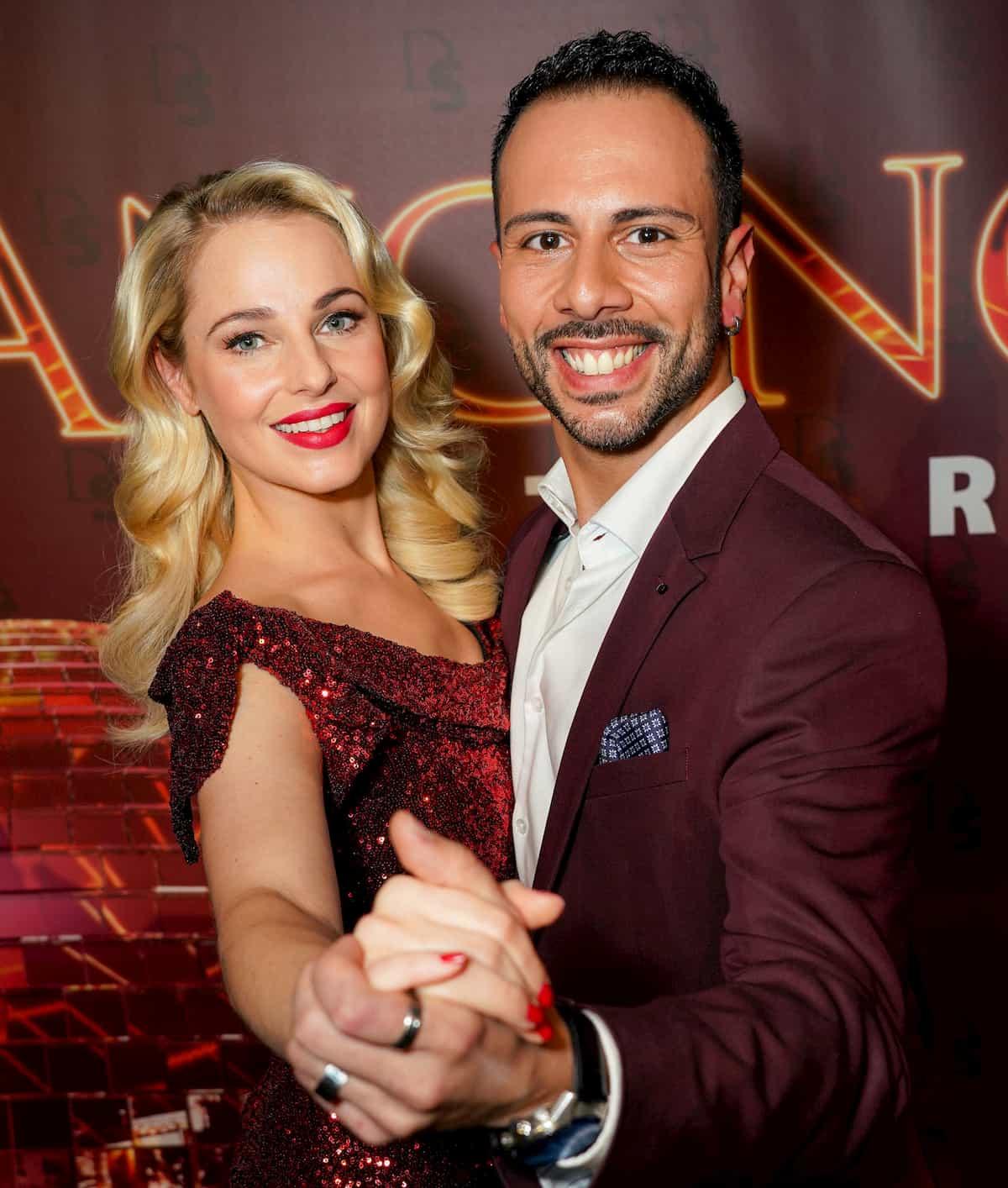 Silvia Schneider - Danilo Campisi als Tanzpaar bei den DancingStars 2020 dabei