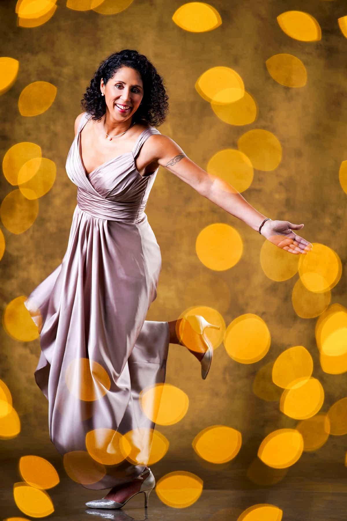 Steffi Jones bei Let's dance 2020 Prominente Kandidatin