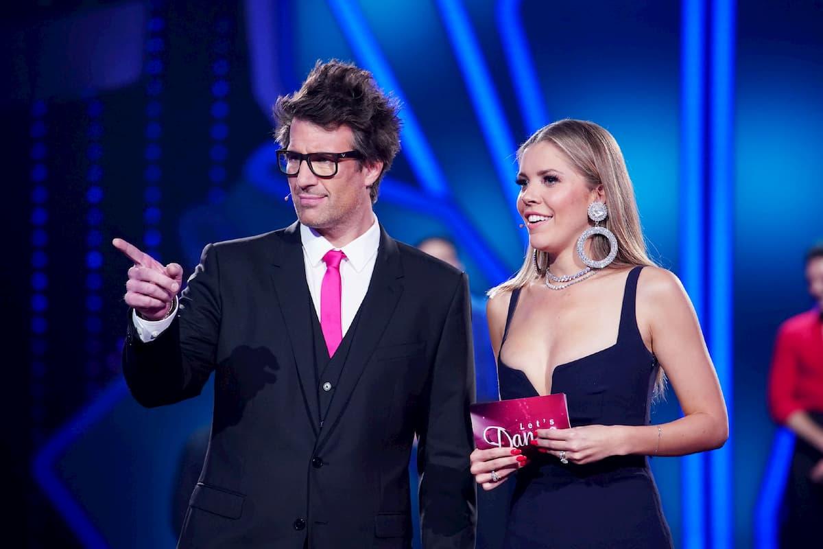 Victoria Swarovski und Daniel Hartwich bei Let's dance am 21.2.2020