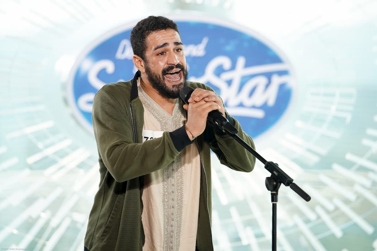 Youness El Fedyly bei DSDS am 8.2.2020 als Kandidat