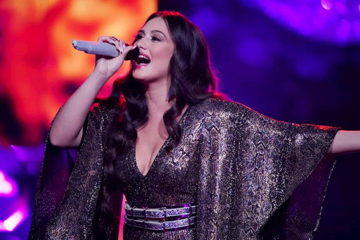 Chiara D'Amico in der 3. DSDS-Live-Show am 28.3.2020