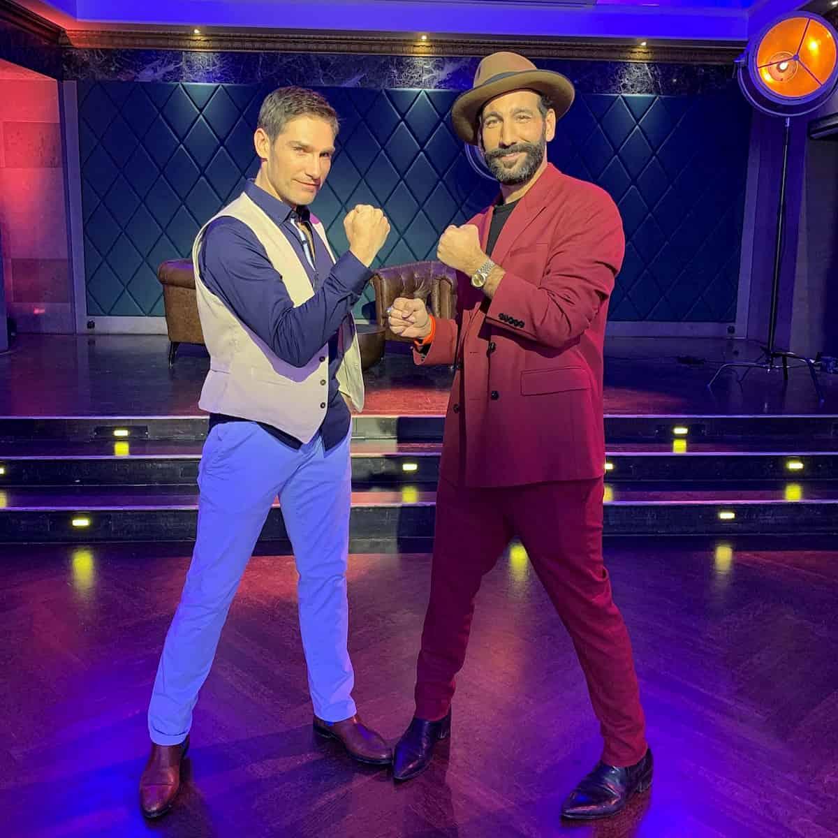 Christian Polanc und Massimo Sinato - Llambis Tanz-Duell am 26.4.2020
