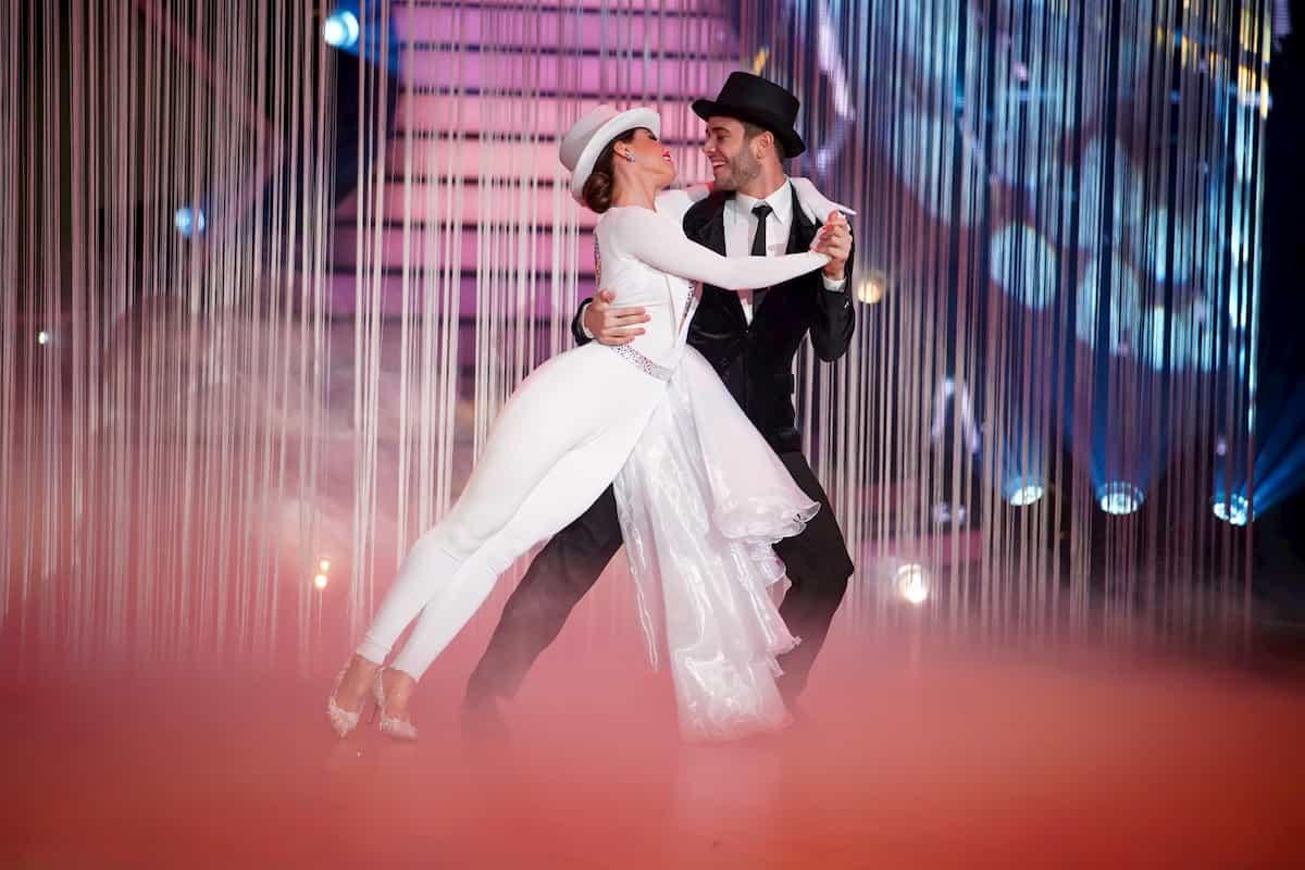 Christina Luft und Luca Hänni bei Let's dance am 27.3.2020