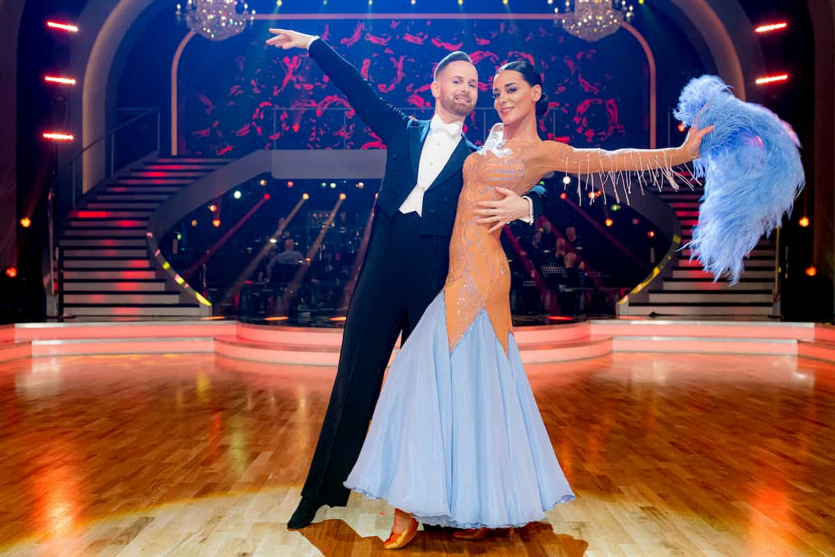 Edita Malovcic - Florian Vana bei den Dancing Stars am 6.3.2020