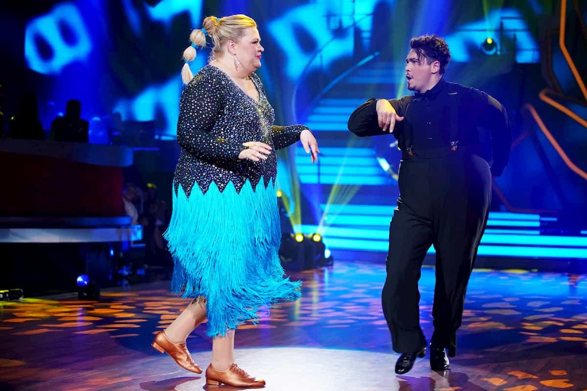 Ilka Bessin - Erich Klann bei Let's dance am 6.3.2020