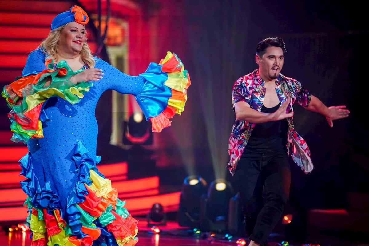 Ilka Bessin und Ericht Klann bei Let's dance am 27.3.2020