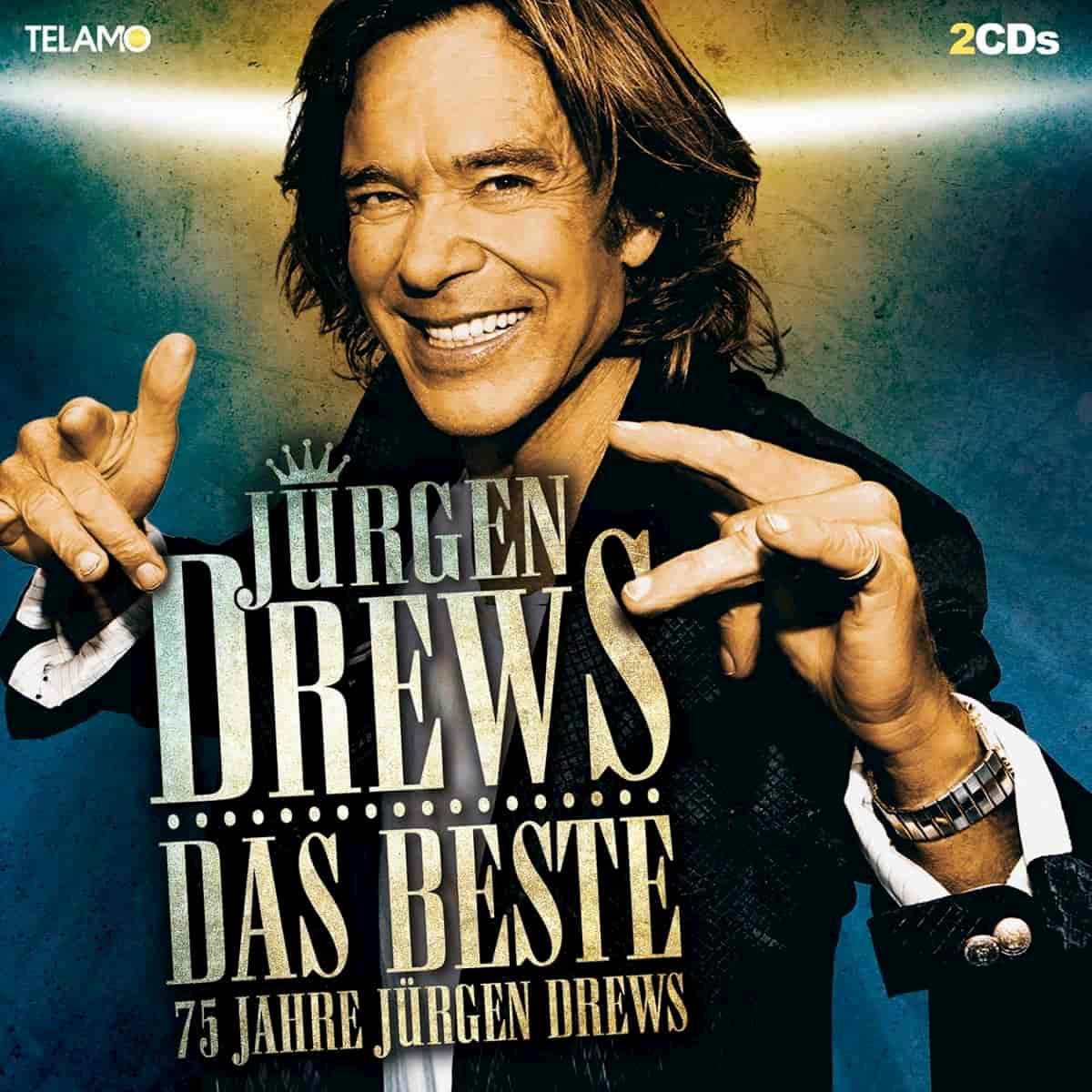 Jürgen Drews - Neues CD 2020 - Das Beste -75 Jahre Jürgen Drews