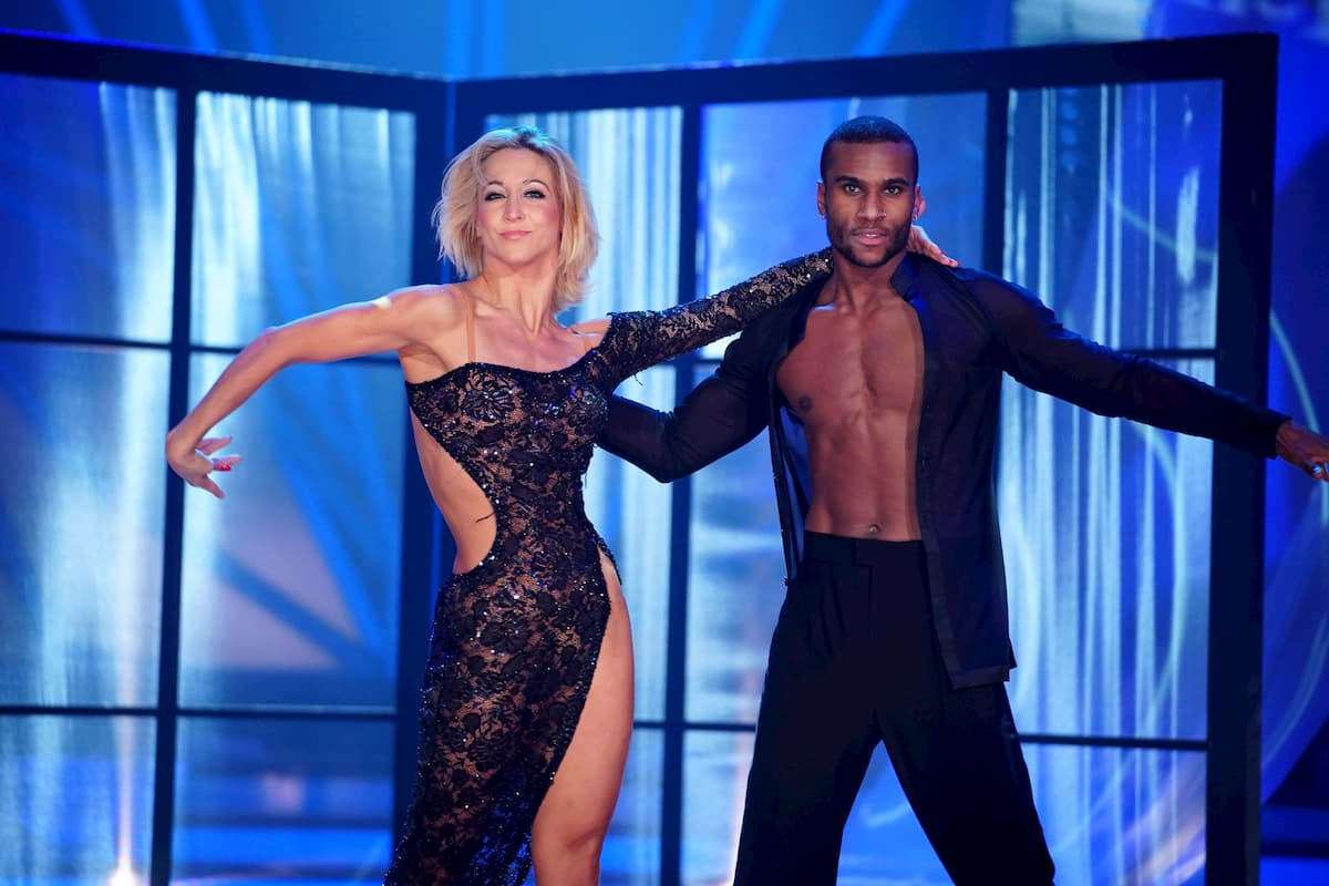 Kathrin Menzinger - Tijan Njie bei Let's dance am 13.3.2020