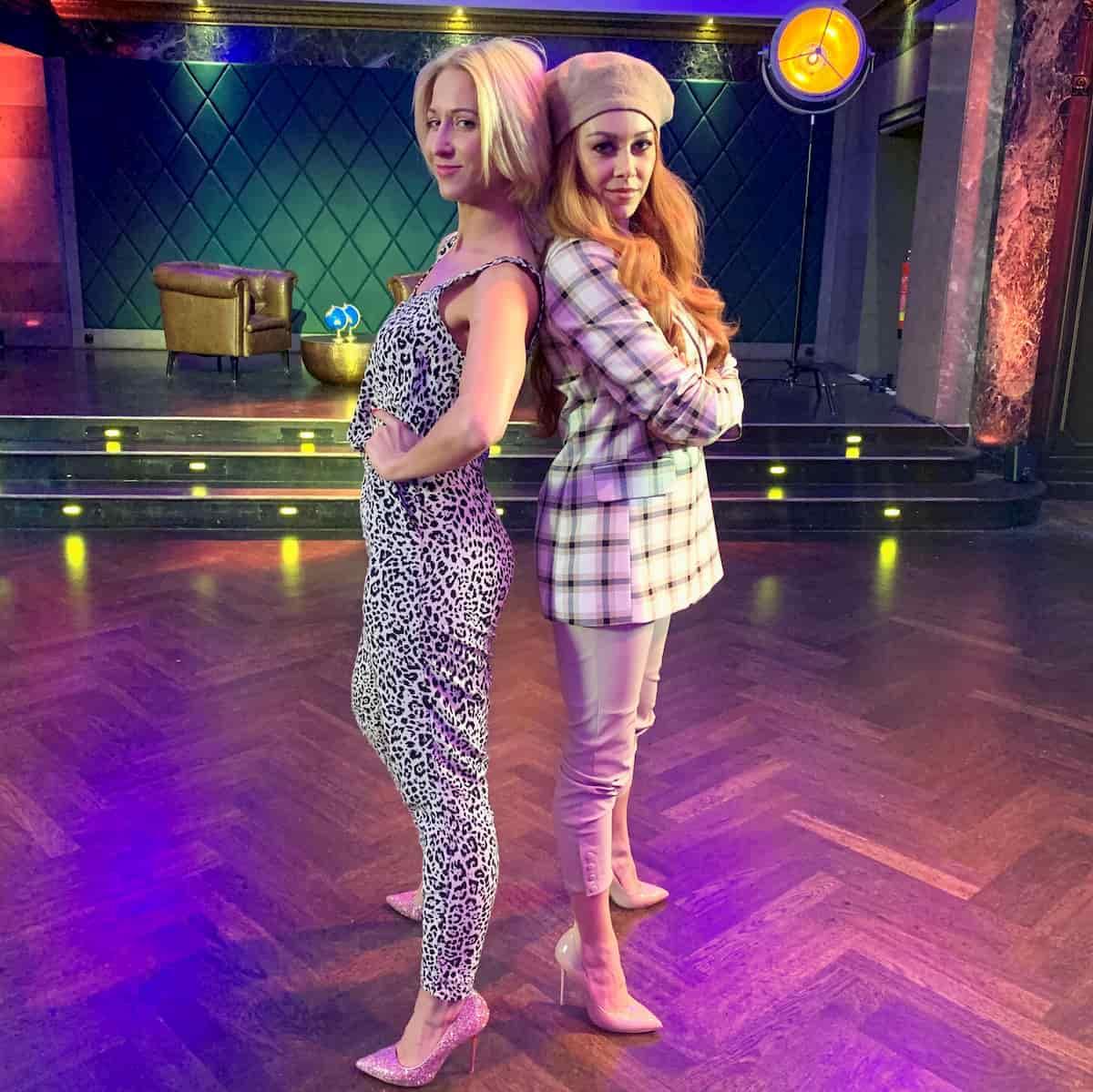 Kathrin Menzinger und Oana Nechiti - Llambis Tanz-Duell am 19.4.2020