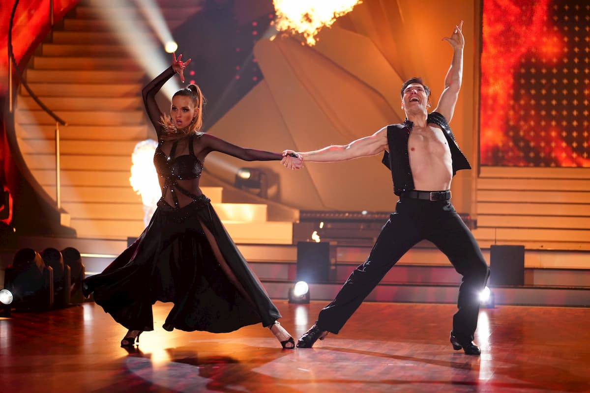 Laura Müller und Christian Polanc bei Let's dance 2020 am 13.3.2020