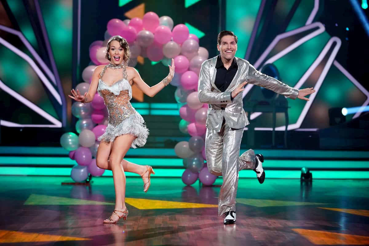 Laura Müller und Christian Polanc bei Let's dance am 20.3.2020
