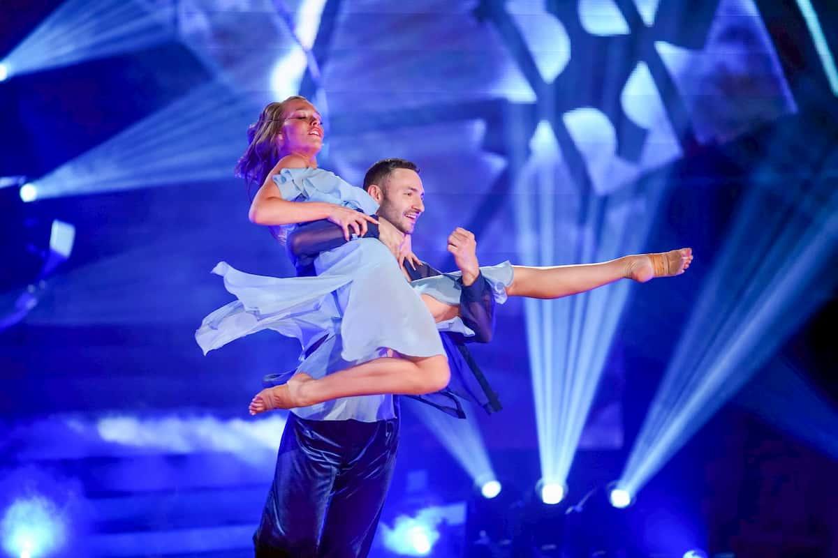 Laura Müller und Robert Beitsch bei Let's dance am 27.3.2020