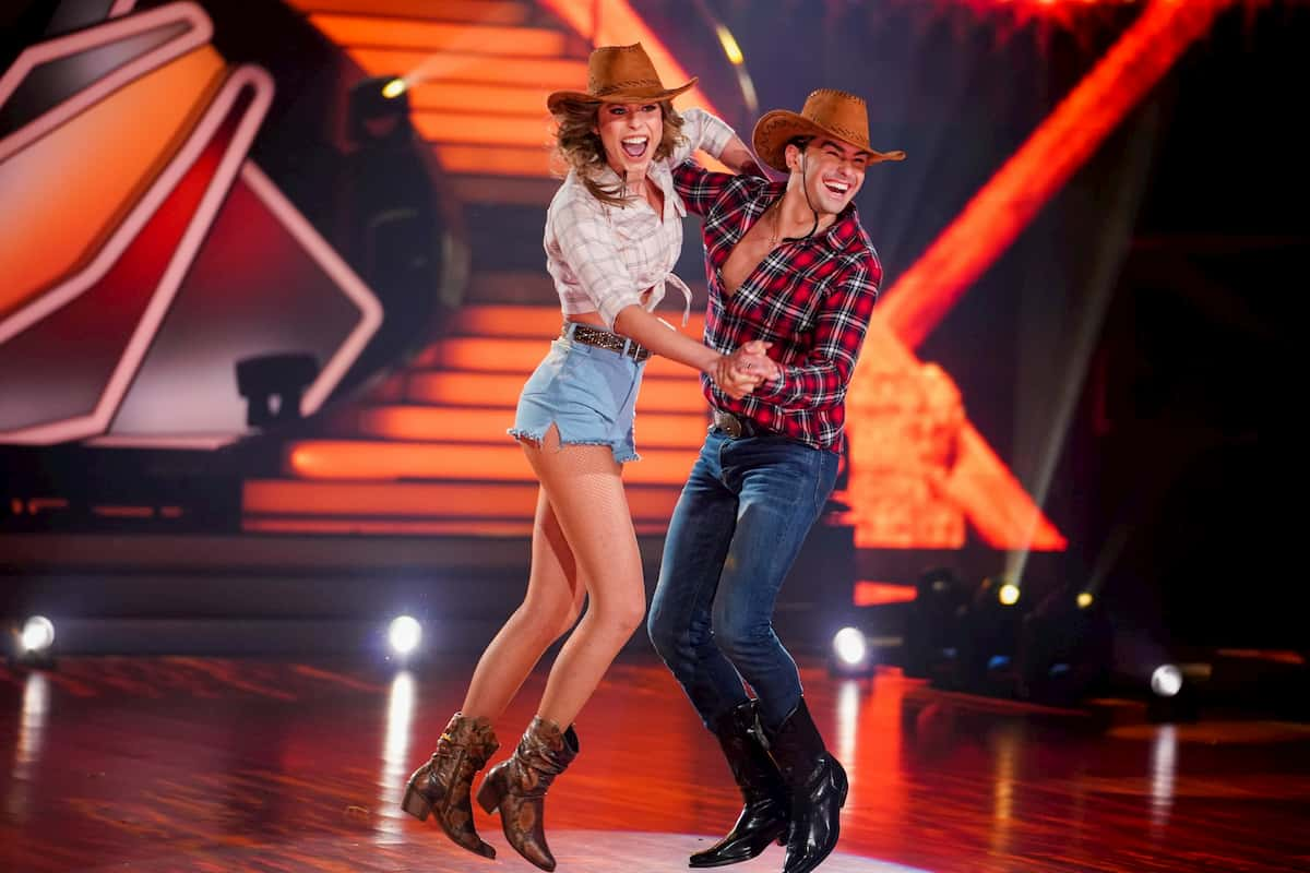 Loiza Lamers und Andrzej Cibis bei Let's dance am 27.3.2020