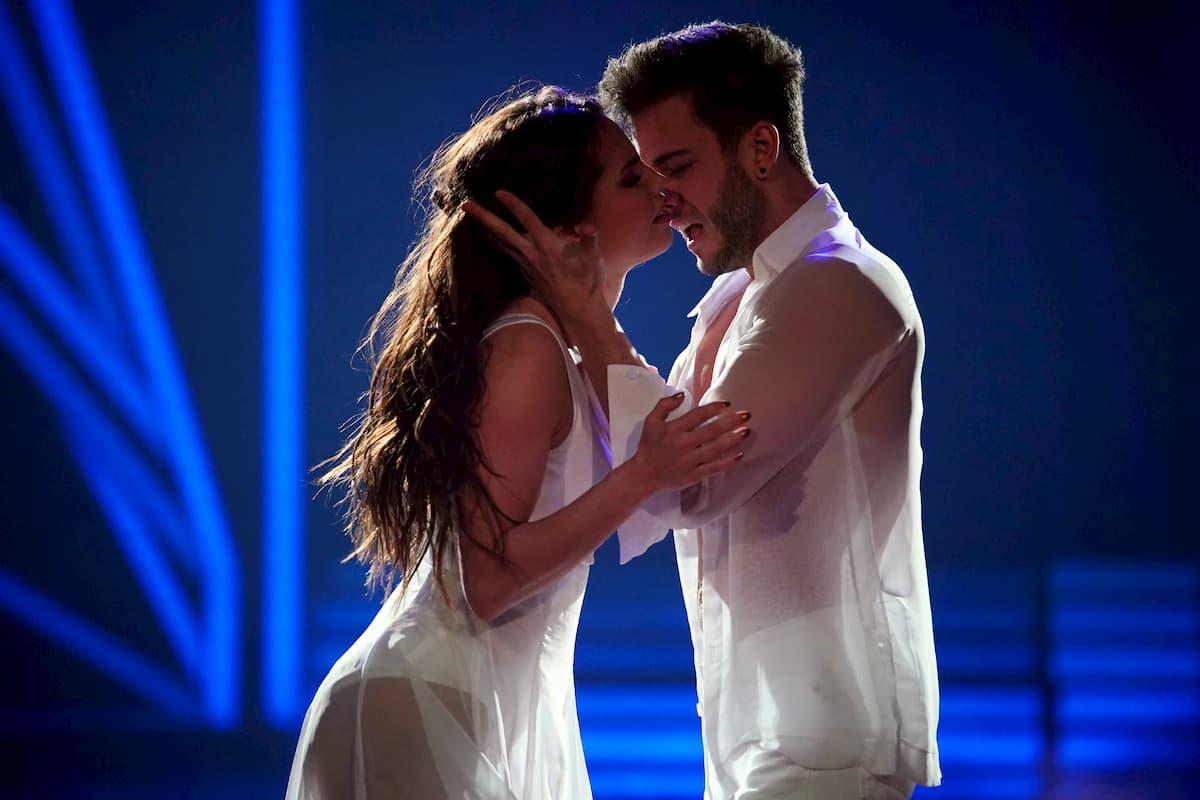 Luca Hänni und Christina Luft bei Let's dance am 20.3.2020