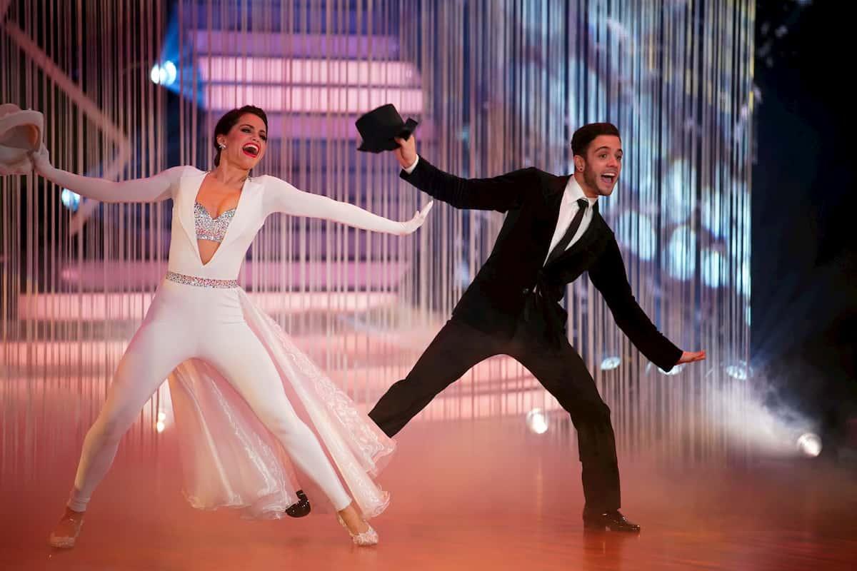 Luca Hänni und Christina Luft bei Let's dance am 27.3.2020