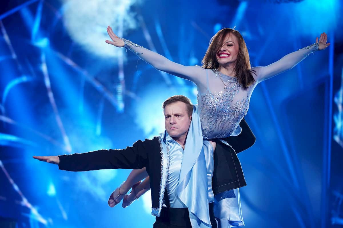 Martin Klempnow und Marta Arndt bei Let's dance 2020 am 13.3.2020