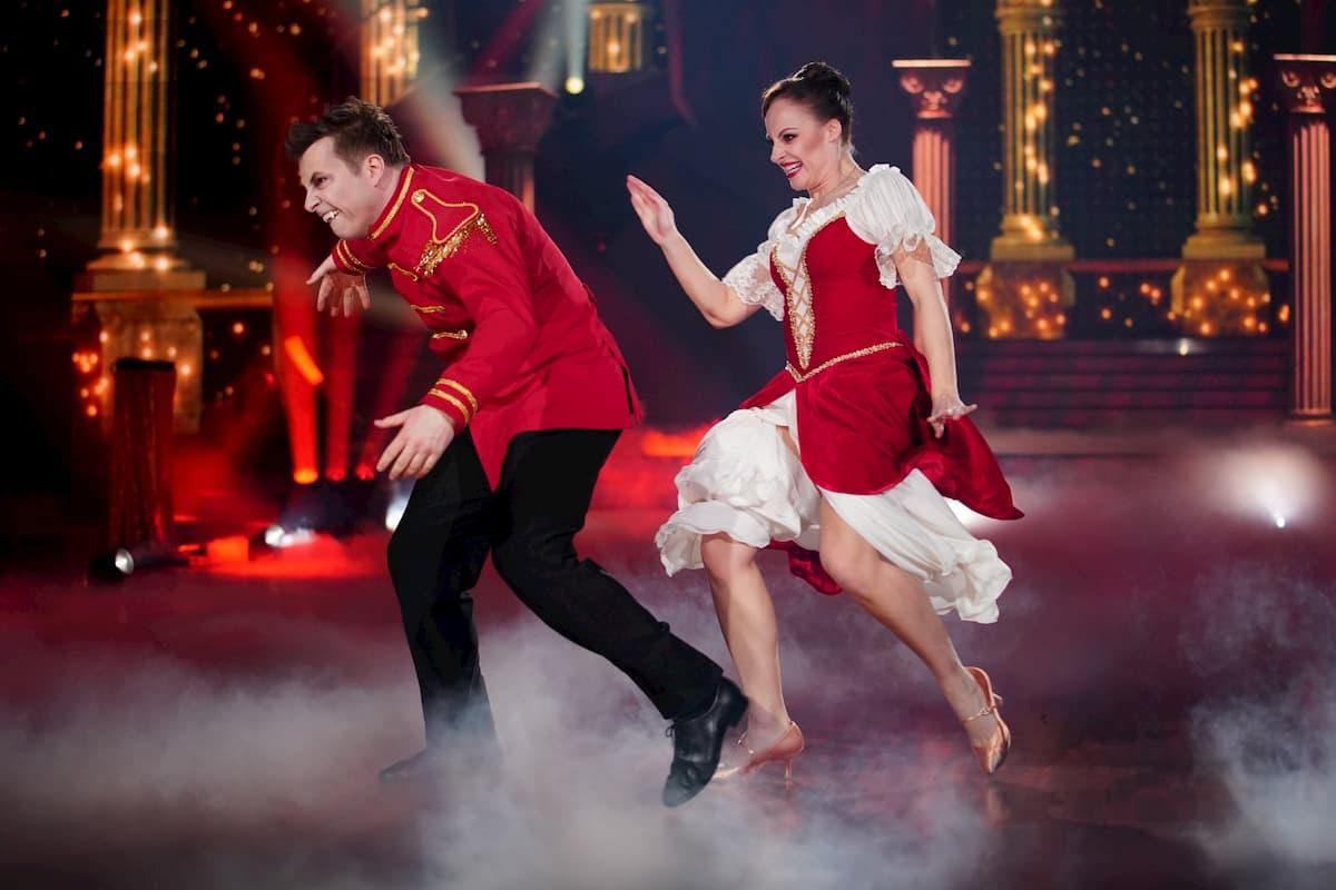 Martin Klempnow und Marta Arndt bei Let's dance am 20.3.2020