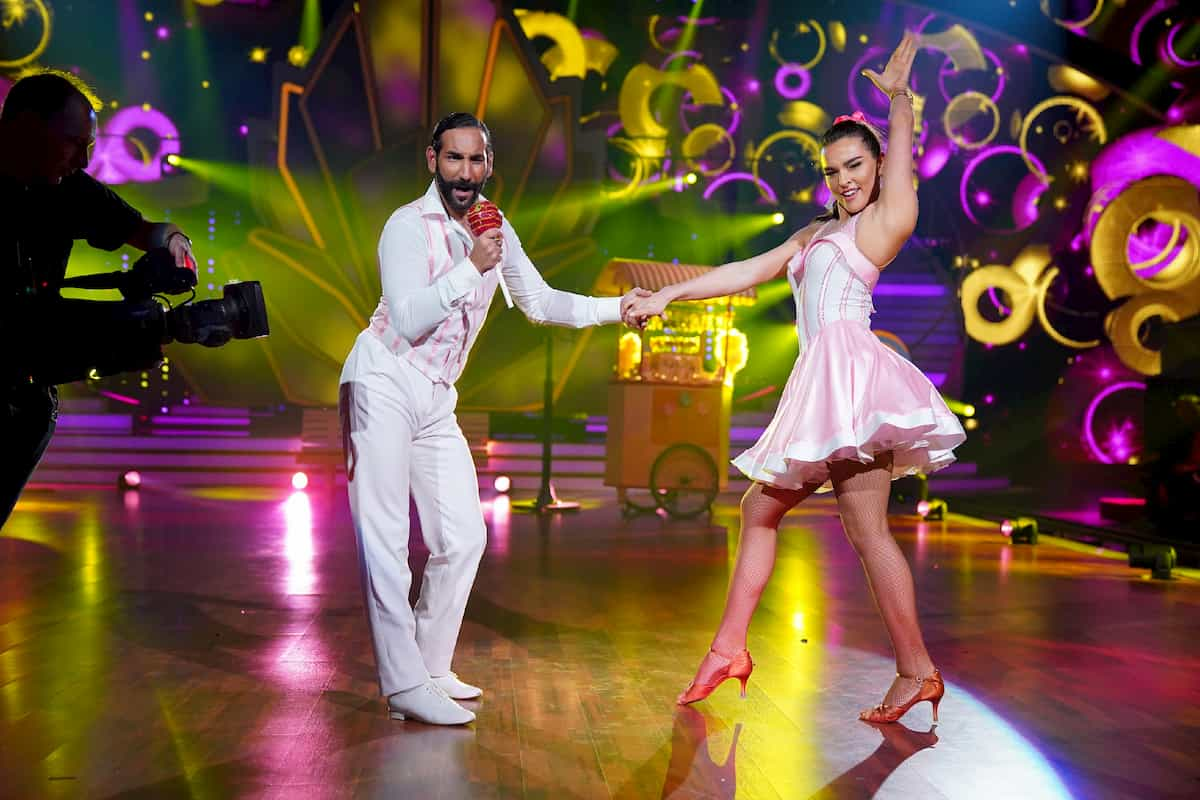 Massimo Sinato - Lili Paul-Roncalli bei Let's dance am 6.3.2020