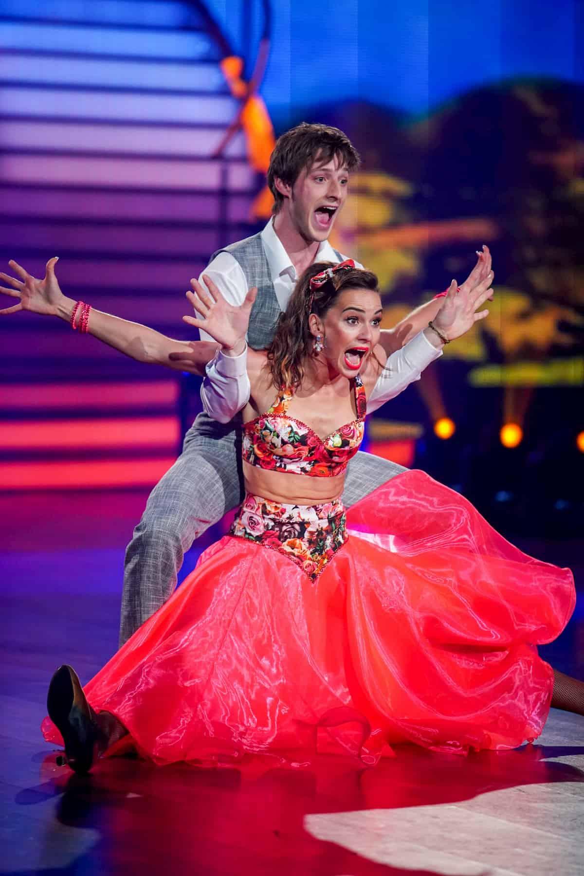 Moritz Hans - Renata Lusin bei Let's dance am 27.3.2020