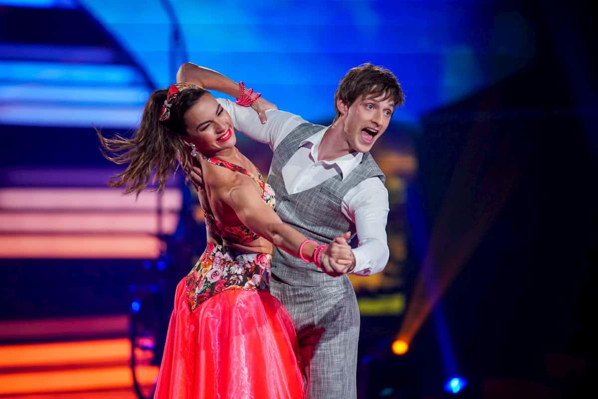 Moritz Hans und Renata Lusin bei Let's dance am 27.3.2020