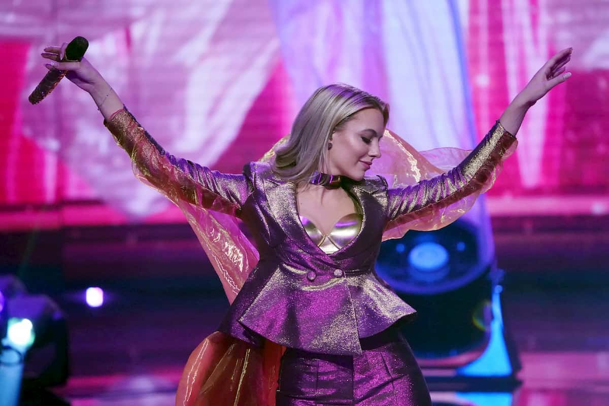 Paulina Wagner in der 3. Live-Show DSDS am 28.3.2020