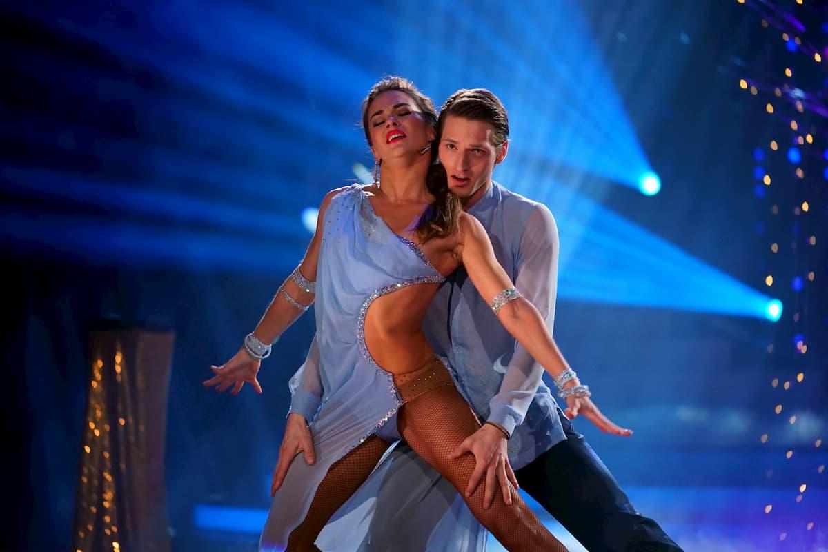 Renata Lusin - Moritz Hans bei Let's dance am 20.3.2020