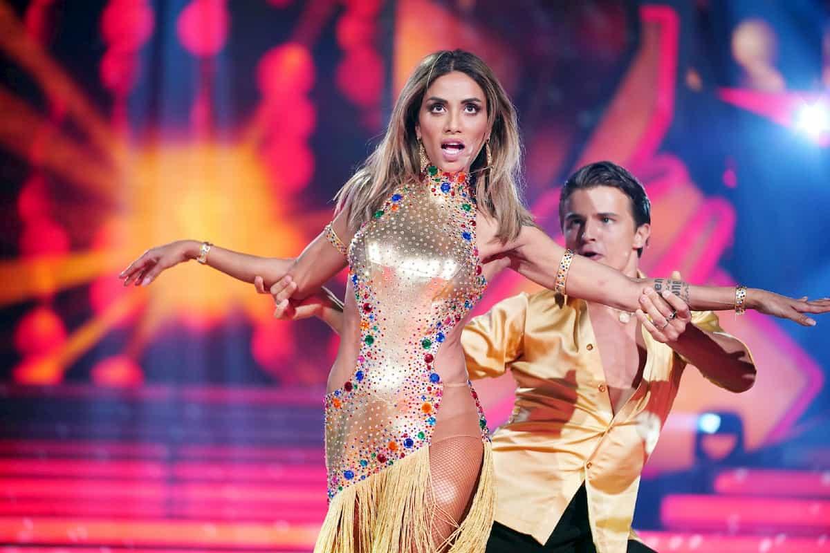 Sabrina Setlur und Nikita Kuzmin bei Let's dance am 6.3.2020