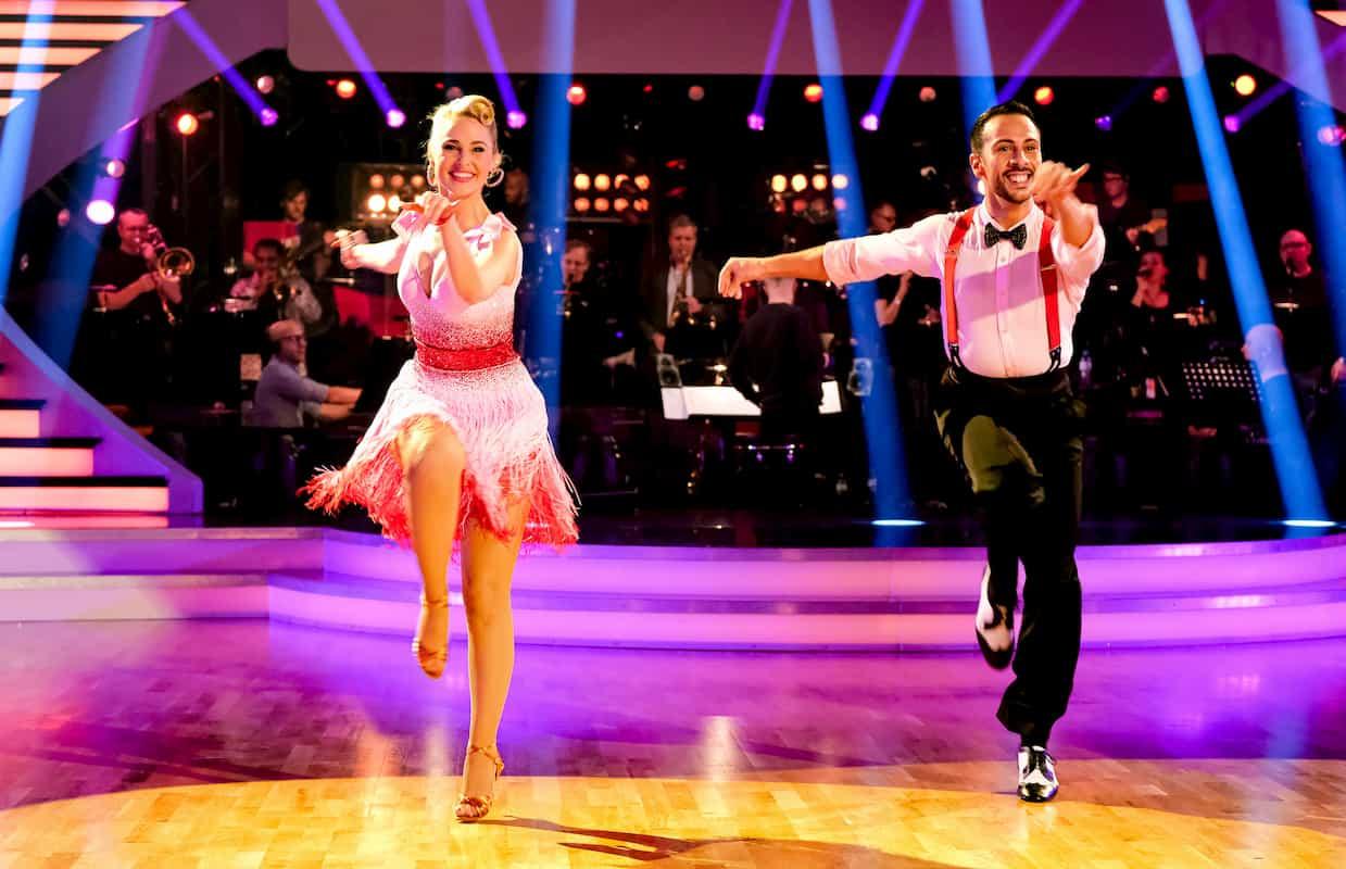 Silvia Schneider - Danilo Campisi bei den Dancing Stars am 6.3.2020