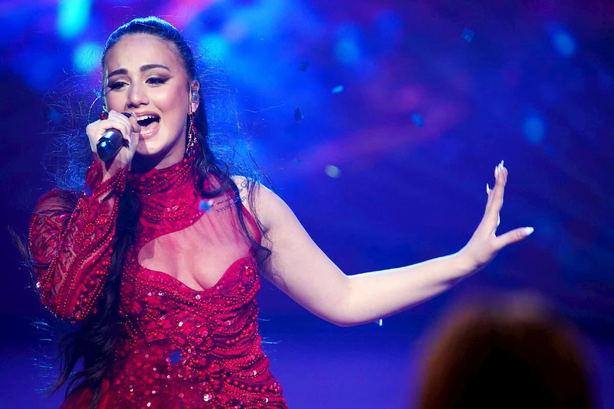 """Chiana D'Amico singt """"Eine Nacht"""", den Sieger-Song von DSDS 2020"""