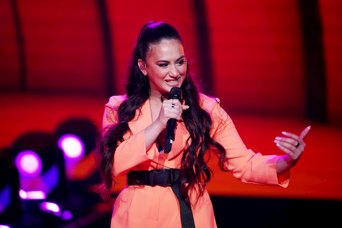 Chiara D'Amico singt ihren Lieblingssong im Fianle DSDS 2020