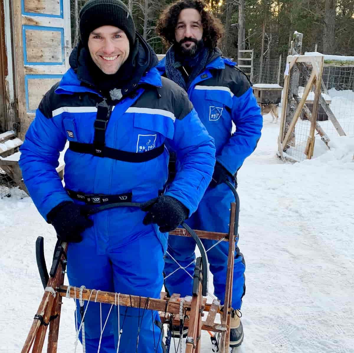 Christian Polanc und Massimo Sinato in Norwegen unterwegs bei Llambis Tanzduell am 26.4.2020