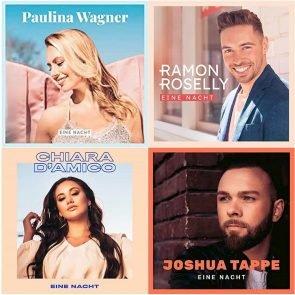 DSDS 2020 Sieger-Song Eine Nacht der Final-Kandidaten Chiara D'Amico, Joshua Tappe, Paulina Wagner und Ramon Roselly veröffentlicht