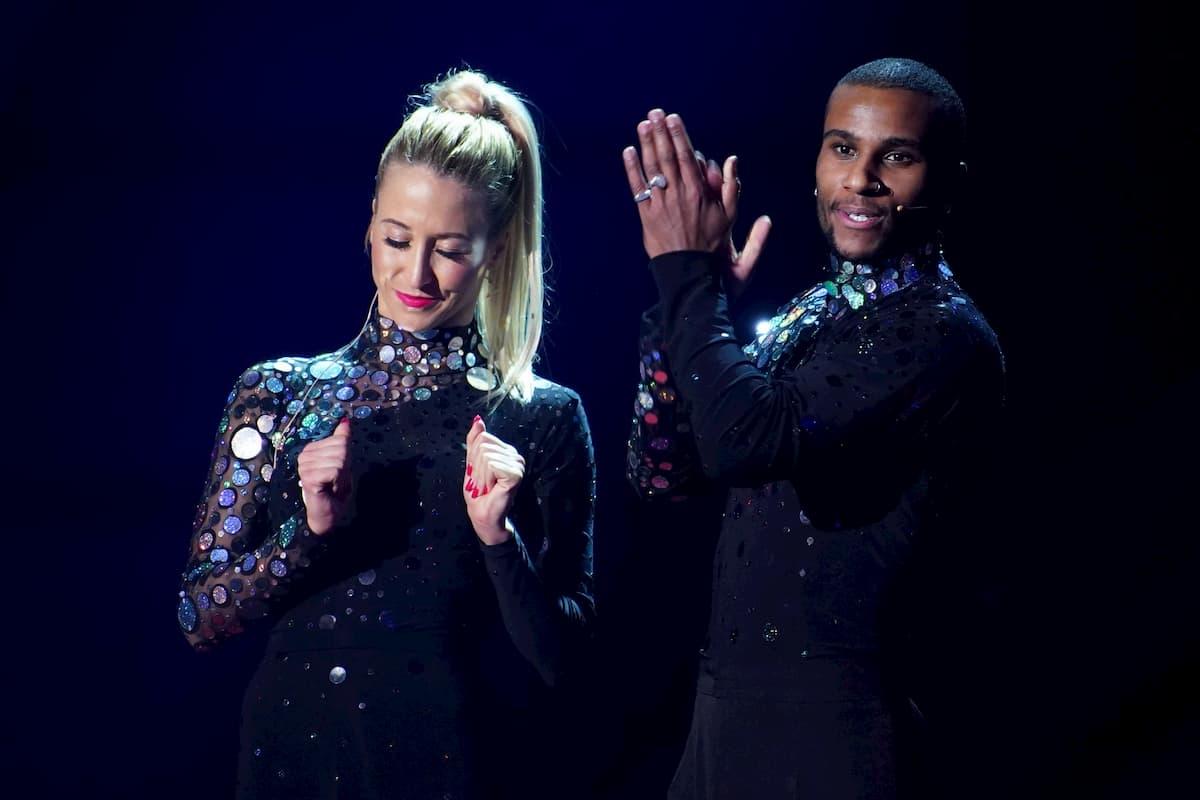 Kathrin Menzinger und Tijan Njie eine Runde weiter bei Let's dance am 17.4.2020