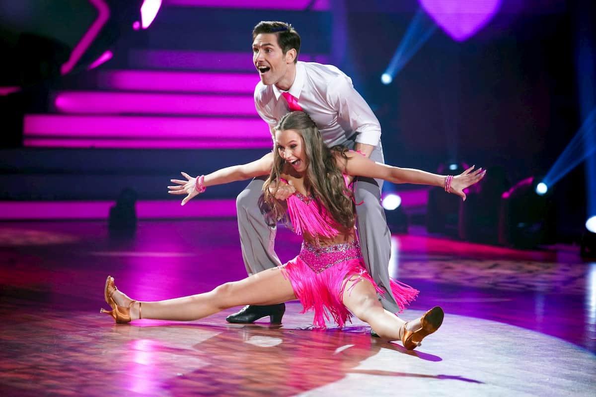 Laura Müller - Christian Polanc bei Let's dance am 3.4.2020