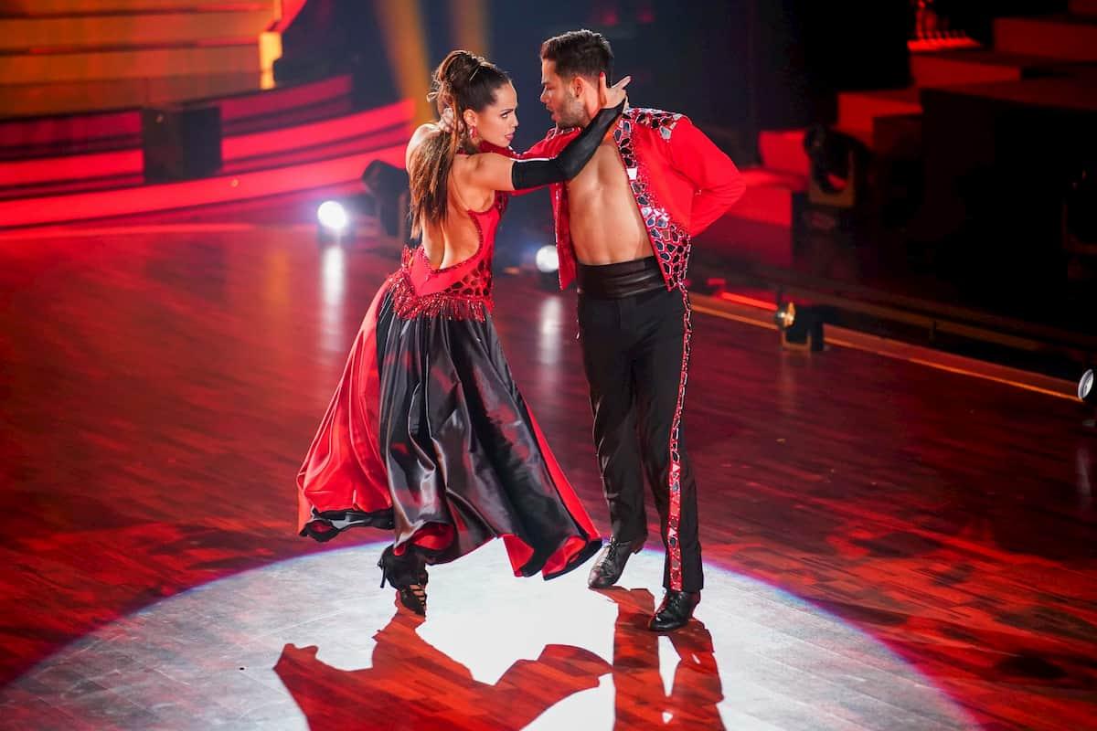 Luca Hänni - Christina Luft bei Let's dance am 3.4.2020