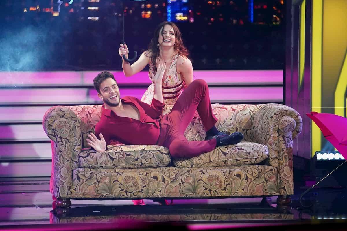 Luca Hänni und Christina Luft mit Quickstep bei Let's dance am 24.4.2020