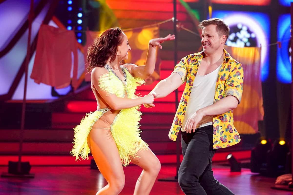 Marta Arndt - Martin Klempnow bei Let's dance am 3.4.2020