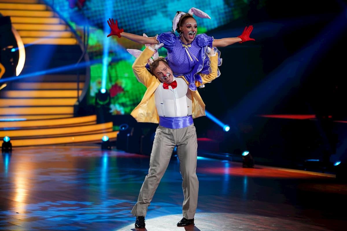 Martin Klempnow - Marta Arndt mit Jive bei Let's dance am 24.4.2020