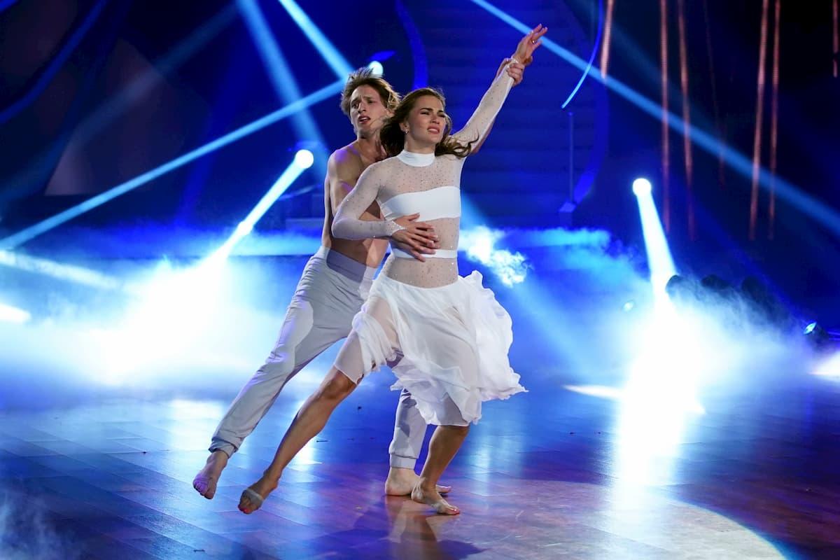 Moritz Hans - Renata Lusin Let's dance 2020 am 17.4.2020