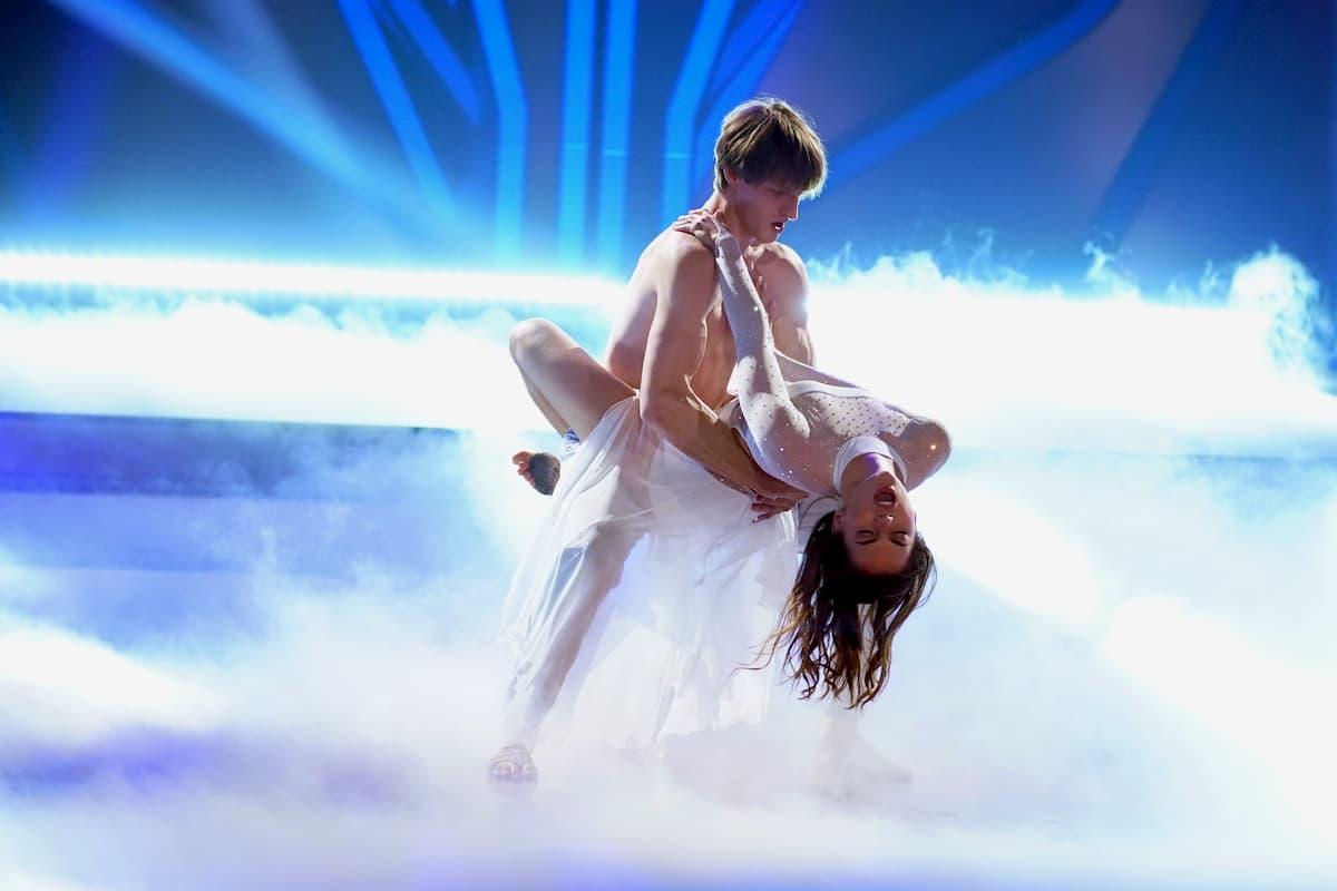 Moritz Hans - Renata Lusin bei Let's dance am 17.4.2020