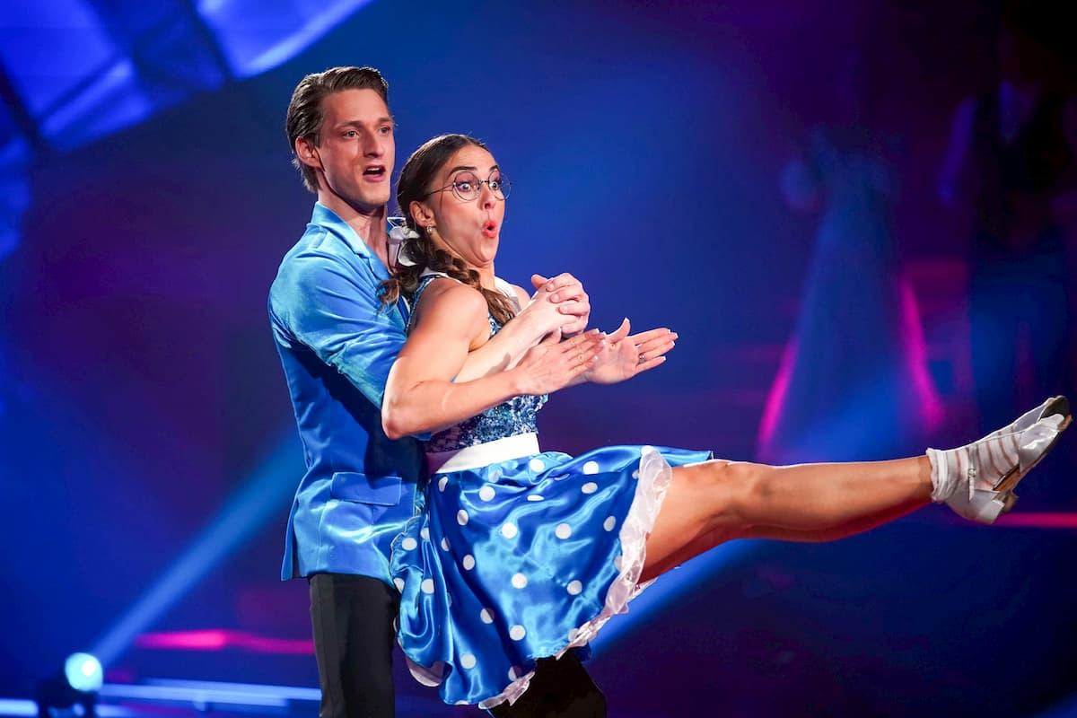 Moritz Hans - Renata Lusin bei Let's dance am 3.4.2020
