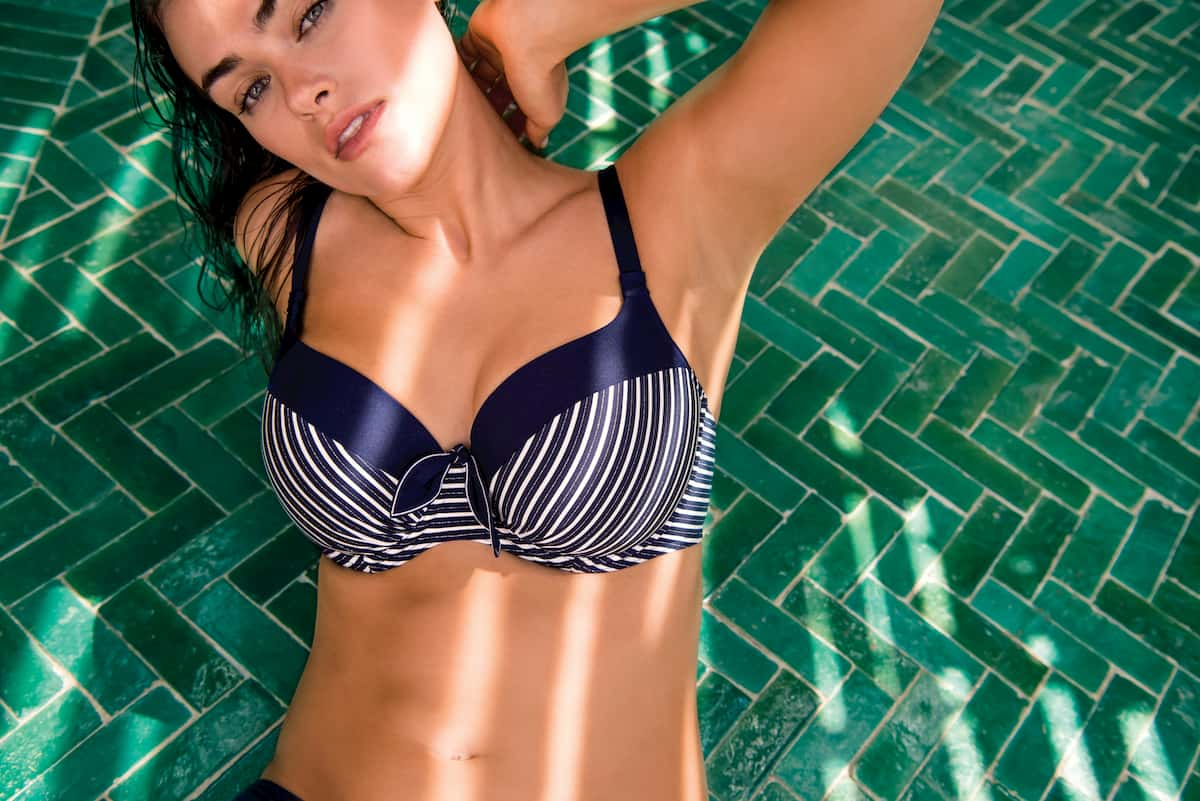 PrimaDonna Swim Bademode 2020 in marokkanischem Bohemian-Chic - hier Bikini-Oberteil Mogador Padded