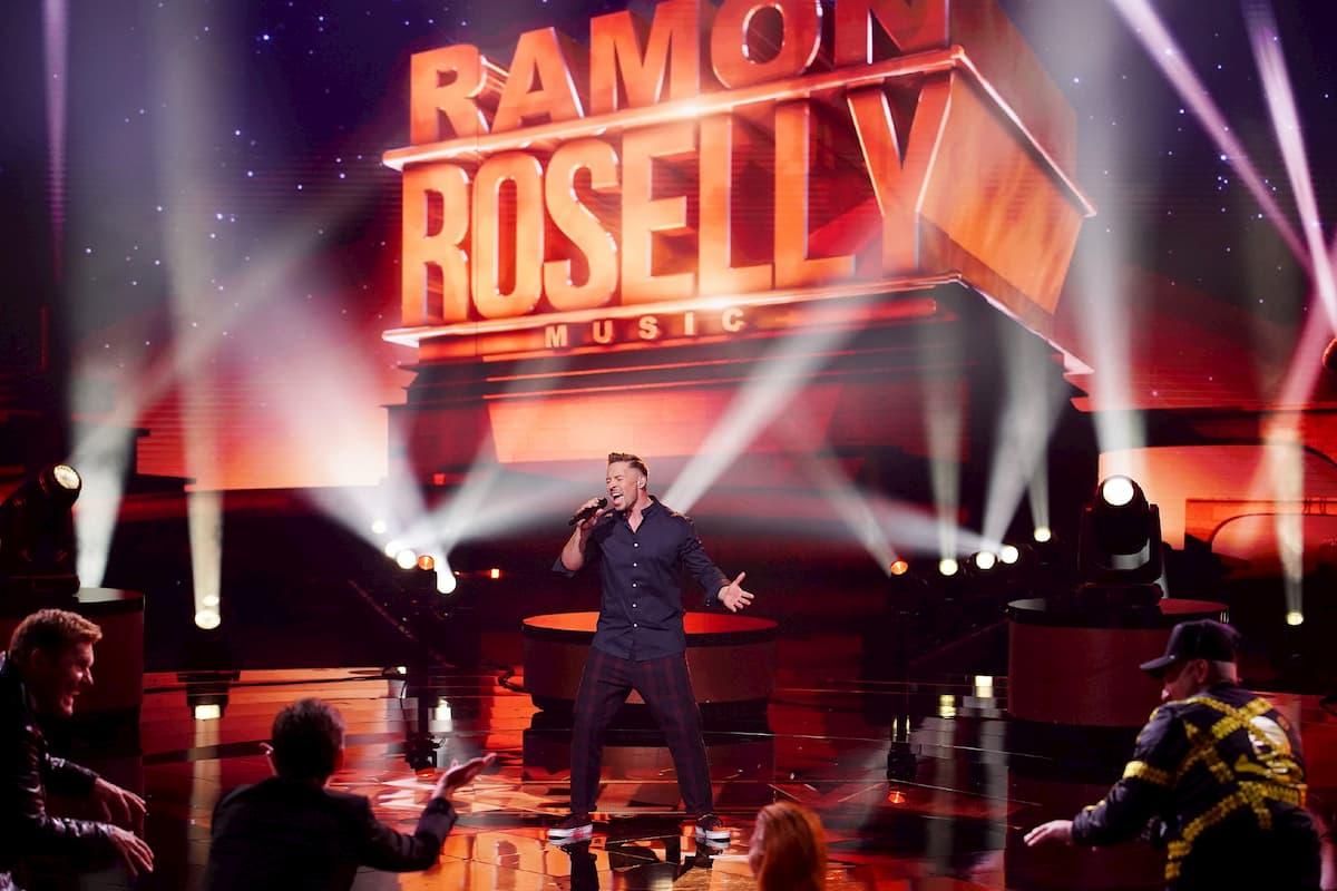 Ramon Roselly singt seinen Lieblings-Song im Finale DSDS 2020