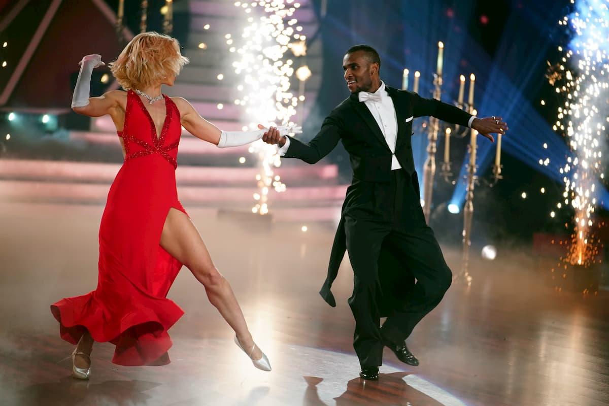 Tijan Njie - Kathrin Menzinger Let's dance 2020 am 17.4.2020