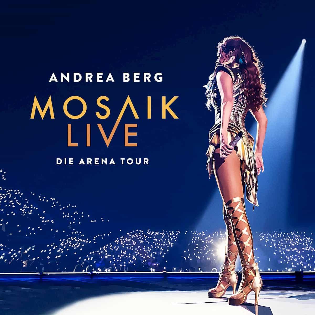Andrea Berg Live-CD 2020 mit DVD mit Konzert-Ausschnitten