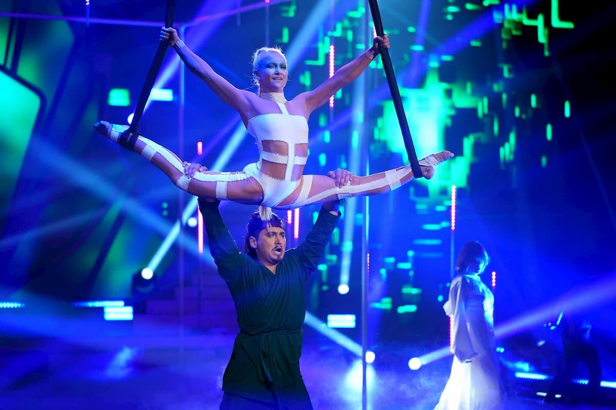 Anne-Marie Kot und Erich Klann bei der Profi-Challenge Let's dance am 29.5.2020