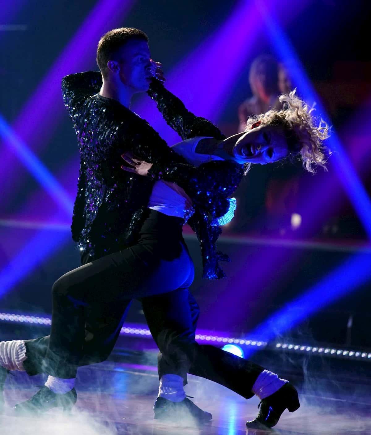 Anton Skuratov - Alona Uehlin bei der Let's dance Profi-Challenge am 29.5.2020